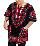 African Men Shirt, Dashiki Clothing For Women Shirts (X-Large).