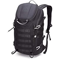 Aione Tactical Military Hiking Daypack Backpack 30L with Hard Shell Top Pocket | Hydration Compartment | Electronics Compartment