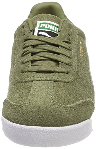 Green puma Sneakers puma Gold White Mixte Adulte Capulet Roma Puma Team Basses Vert amazon Suede Olive qfBZP