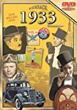 Flickback 1933 Flickback DVD Greeting Card - Commemorative Gift Year DVD1933