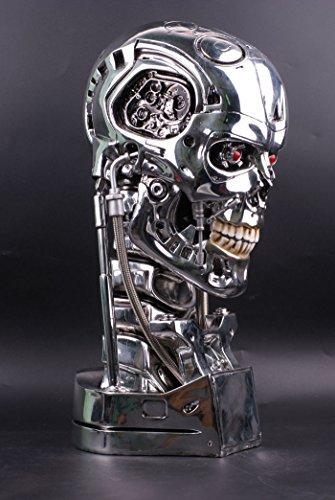 Sideshow Terminator - Gmasking Terminator 2 T800 Endoskeleton Skull Bust Statue Scale 1:1 Replica