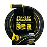 "Stanley Fatmax Professional Grade Water Hose, 50' x 5/8"", Black 500 PSI"