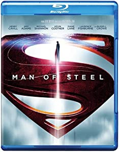 Cover Image for 'Man of Steel (Blu-ray+DVD+UltraViolet Combo Pack)'