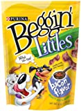 Beggin' Littles, Bacon Flavor Dog Snacks, 6-Ounce Bags (Pack of 10), My Pet Supplies