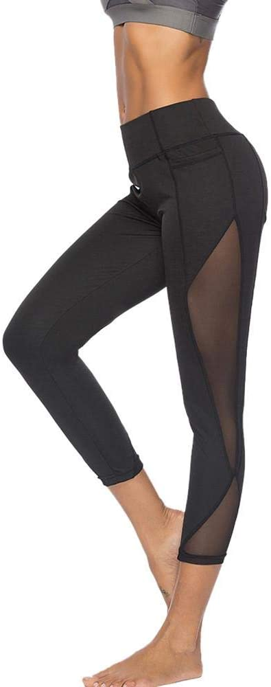Pantalones Huecos de Yoga de Color Liso Leggings de Deporte Mujer Felz Leggings de Deporte Mujer Ropa Deportiva para Fitness Yoga Running Sportswear