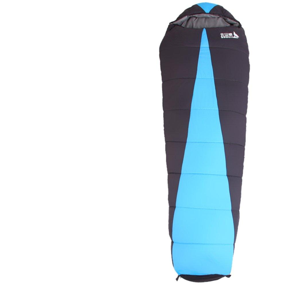 アウトドアSleepingバッグ/厚みSingle Sleepingバッグ暖かいキャンプ旅行 B01M1KIH2E  B