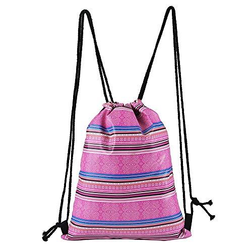 Bolsillo Satchel Fiesta Bundle Moda ALIKEEY Drawstring Bag Tous Deportes Carrito Aire Bebe Mochila Bandolera Casual Al B Mano Libre wF0qYx4