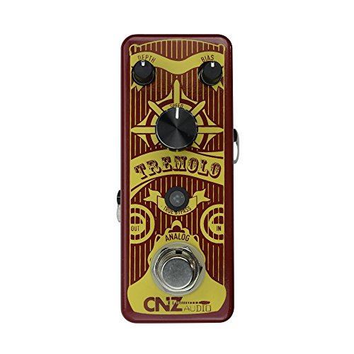 CNZ Audio Tremolo - Analog Guitar Effects Pedal, True ()