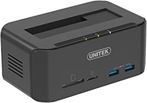 Win A Free UNITEK Tool Free USB 3.0 to SATA External Hard Drive Docking...
