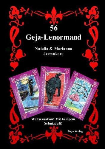56 Geja-Lenormand Buch: Weltsensation! Mit heiligem Schutzduft!