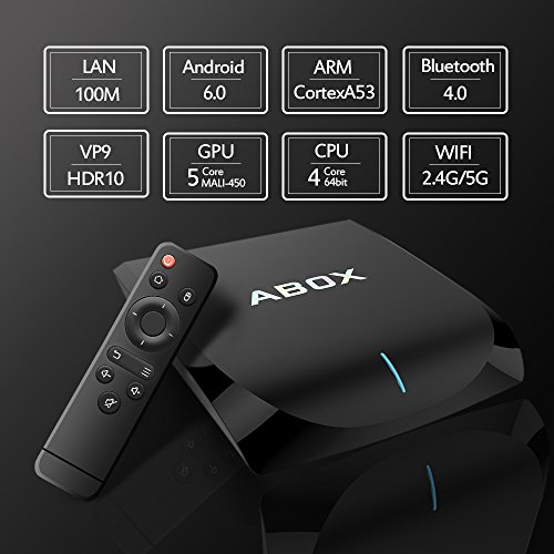 2017 Model GooBang Doo Android 6.0 TV Box, Abox A2 Android TV Box