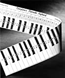 Practice Keyboard and Note Chart for Behind the Piano Keys