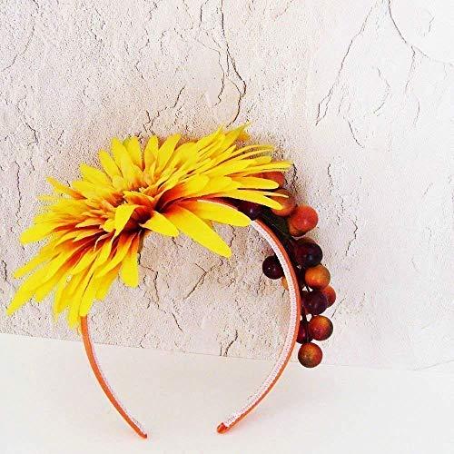 Golden Fall Harvest Headband / ME2Designs Handmade Autumn Head Piece