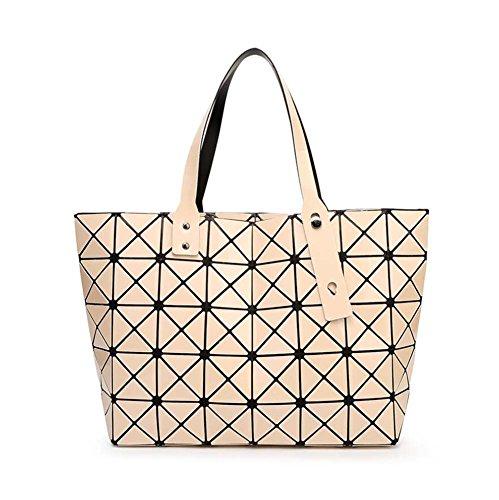 señoras Bag de hombro trabajo Bolso Geométrico señoras Crossbody ajustable de Messenger handle las Apricot para Top compras de las Bags Colour Bags Bolso ocio nw4tE7Zq