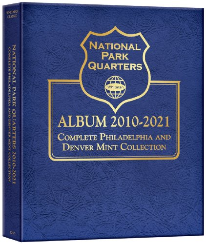 National Parks Quarters 50 States  District of Columbia amp Territories Collectors Quarters Folder 20102021 Warmans Collector Coin Folders