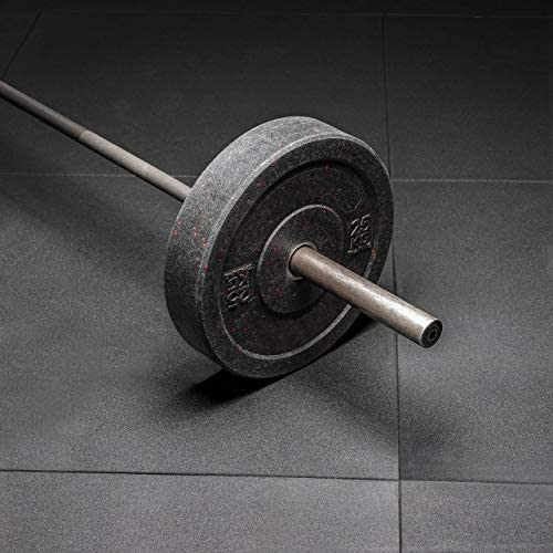 METIS Rubber Gym Flooring Mats [1m²] | Large Gym Mat Floor Tiles – Home & Gyms | Non-Slip SBR/EPDM Crum Rubber Matting | Thick Floor Protector [15/20/30mm]