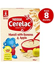 NESTLÉ CERELAC Muesli with Banana & Apple Baby Cereal Stage 3 – 6x200g