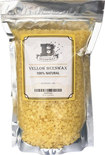 Beesworks Yellow Beeswax Pellets - 2 lb ()