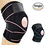 Knee Brace Support for Meniscus Tear,Arthritis,ACL,LCL,MCL Injury Recovery,Running,Cycling,Basketball with Patella Stabilizer for Men Women