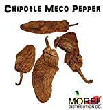 Dried Chile Chipotle Meco Pepper // Weights: 4 Oz, 8 Oz, 12 Oz, 1 Lb, 2 Lbs, 5 Lbs, 10 Lbs! (2 Lbs)