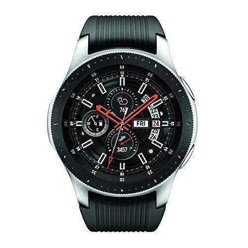 (Samsung Galaxy Watch 2019 (46mm) Bluetooth, Wi-Fi, GPS Smartwatch, SM-R800 - International Version (Silver))
