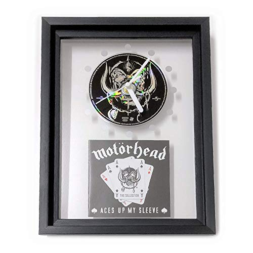Ace Framed - MOTÖRHEAD - Aces Up My Sleeve: FRAMED CD ART CLOCK/Exclusive Design