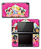 Princess Friends Pink Cinderella Snow White Ariel Jasmine Belle Sleeping Beauty Princess in Every Girl Video Game Vinyl Decal Skin Sticker Cover for Original Nintendo 3DS System