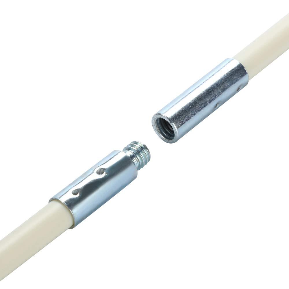 Cepillo para Chimenea//tubos,Roeam cepillo nylon limpieza con Varilla de extensi/ón flexible dom/éstico industrial Kit de herramientas