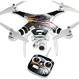 MightySkins Protective Vinyl Skin Decal for DJI Phantom 3 Standard Quadcopter Drone wrap cover sticker skins Eagle Eye