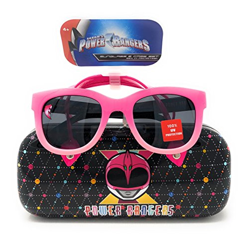 Power Rangers Girl's Sunglasses Pink with Pink Ranger Designed (Power Rangers Glasses)