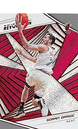 2018-19 Revolution Basketball  1 Goran Dragic Miami Heat Official NBA  Trading Card By eb643115e