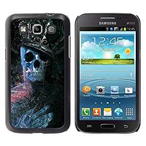 All Phone Most Case / Oferta Especial Duro Teléfono Inteligente PC Cáscara Funda Cubierta de proteccion Caso / Hard Case Samsung Galaxy Win I8550 // King Skeleton