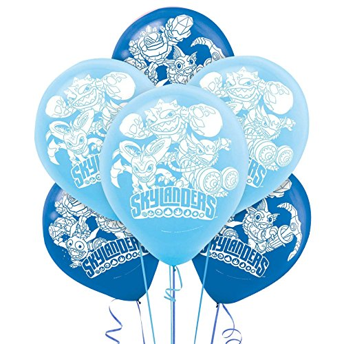 Skylanders Evergreen latex Balloon 6ct [Contains 5 Manufacturer Retail Unit(s) Per Amazon Combined Package Sales Unit] - SKU# 111328