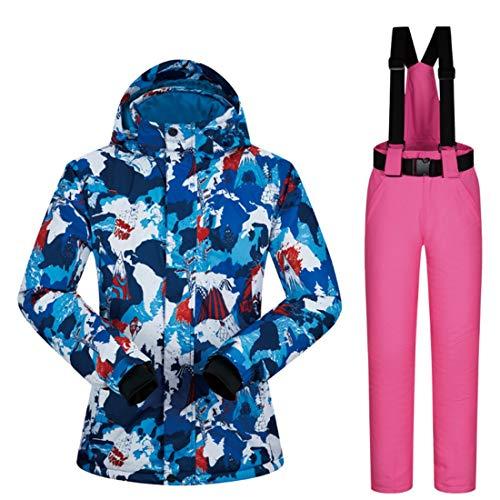 Xl Donne color Giacca Le Size Ideale Shizheshop 09 Pioggia Da Invernale Per 05 Sci Impermeabile Cappotto vqT6A
