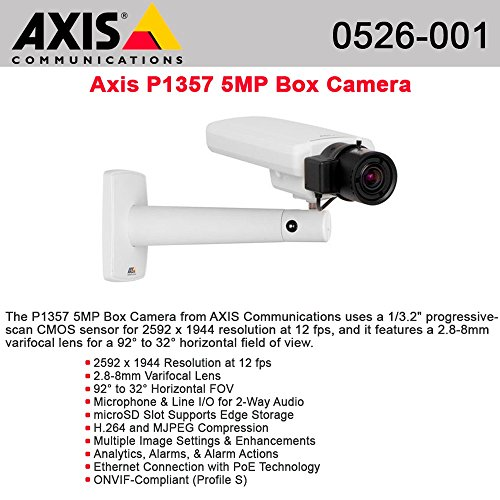 Axis Communications 0526-001 Indoor Day/Night Pan-Tilt-Zoom