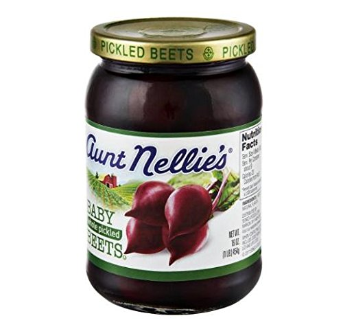 Pickled Whole (Aunt Nellie's Whole Pickled Baby Beets (Pack of 3) 16 oz Jars)