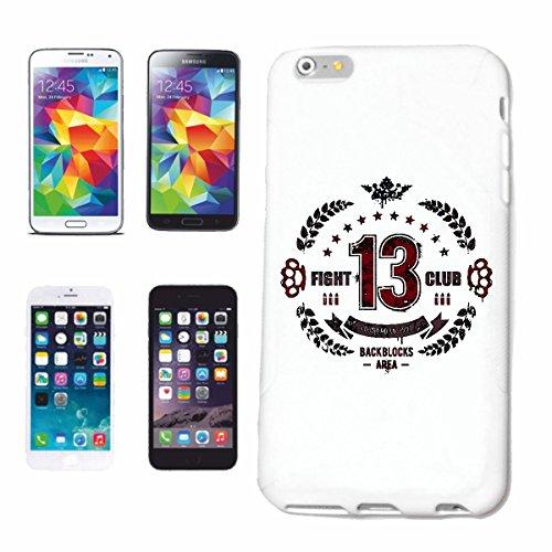 """cas de téléphone iPhone 6+ Plus """"FIGHT CLUB ESPACE NOIR BLOCS MMA MARTIAL MOTOR SPORT SHOCK RING STREET COMBATTRE ARTS MARTIAUX ENSEIGNANT MELEE MATERIAL ART KARATE JUDO WRESTLING"""" Hard Case Cover Tél"""