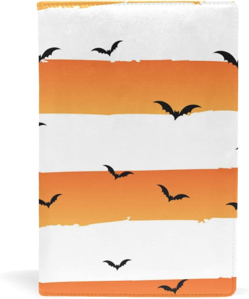 motivo pipistrello Taccuino con copertina in pelle ufficio 14,8 x 22,8 cm formato A5 copertina rigida per ragazze e ragazzi per scuola