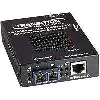 SBFTF1013105NA - Transition Networks 10/100 Bridging 10/100Base-TX to 100Base-FX Media Converter 1 x RJ-45 , 1 x SC - 10/100Base-TX, 100Base-FX