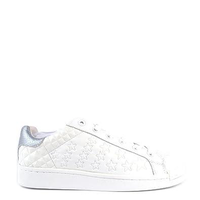 Cosmic 41 Chaussures Ash EU BlancArgent Baskets Femme qv0S15
