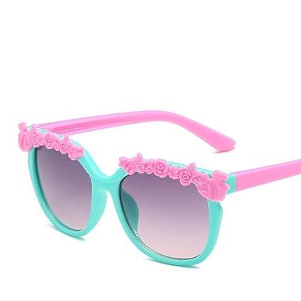 BiuTeFang Gafas de Sol Mujer Hombre Polarizadas Las Gafas de Sol HD de bebé Niños decoran