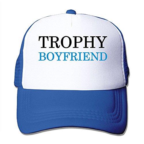 Foam Trophy (NONGFU Trophy Boyfriend Big Foam Snapback Hats Mesh Back Adjustable Cap)