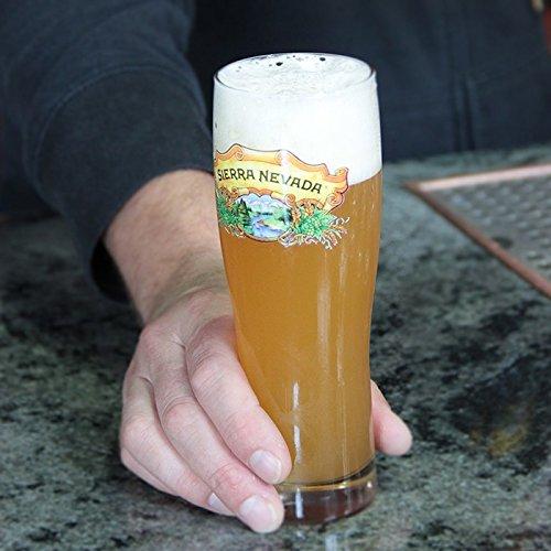 (Sierra Nevada Brewing Company - Monaco Hefeweizen Glass)