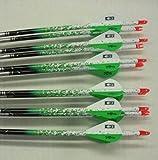 Easton ST Axis Full Metal Jacket Arrows 340 w/Blazer Vanes Spray Wraps 1Dz.