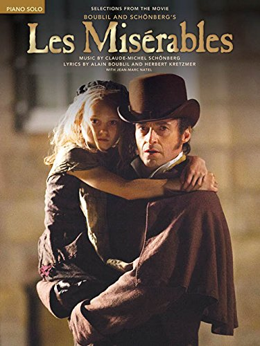 Hal Leonard Les Miserables Music from the Motion Picture for Piano Solo