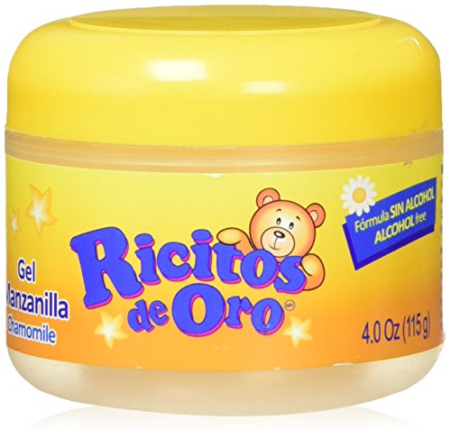 Image of the Ricitos De Oro Baby Styling Gel with Chamomile 4.0 Oz