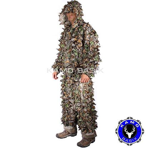 KamoLeaf 3D Leafy Ghillie Suit By Camo Basics (XL)
