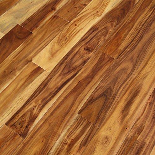Cheap  Acacia Natural Plank (Sample) - Solid Hardwood Floor Aluminum Oxide