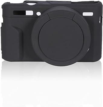 G7X Mark II Tosuny Funda Cubierta de C/ámara de Silicona Caja Flexible Protectora para Canon G7XII