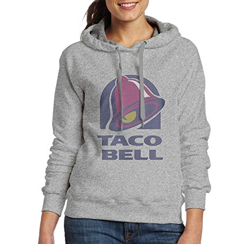 Women's Hooded Sweatshirt No Pockets Sun Illuminati Triangle Art Majestic Bell with Taco Fashion Classic Style Ash M - Majestic Classic Pullover